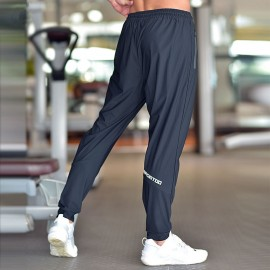Fashion Gym Trouser Loose Fitness Casual Sweatpants Drawstrings Design Sports Trouser Men Workout Ankle Banded Trouser Navy